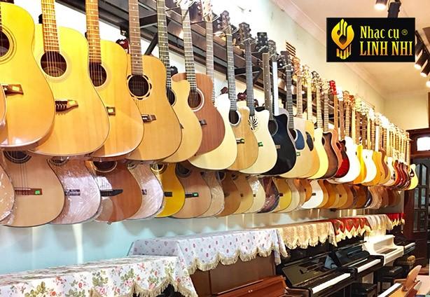Guitar giá rẻ chất lượng tại hà nội