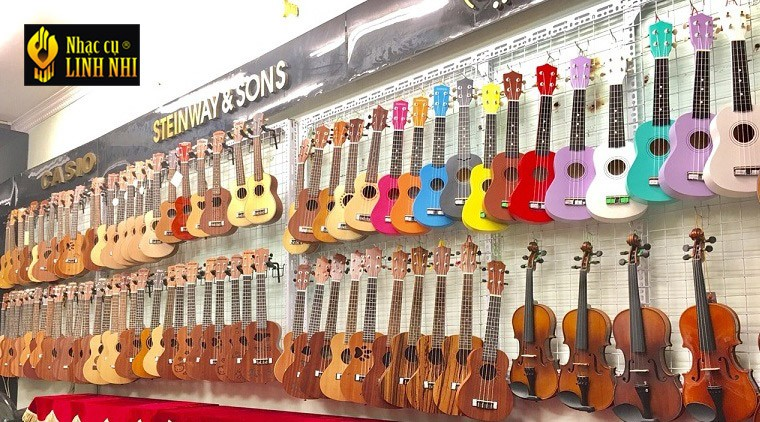 cửa hàng bán ukulele giá rẻ uy tín tại hà nội