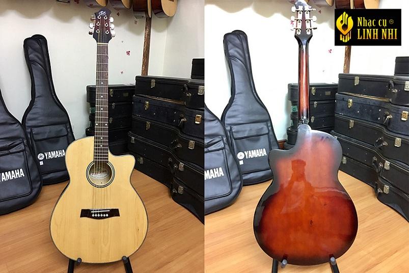 Acoustic-G-201 cho người mới bắt đầu chơi guitar