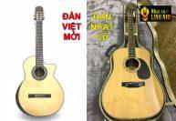So sánh guitar việt mới và guitar nhật cũ