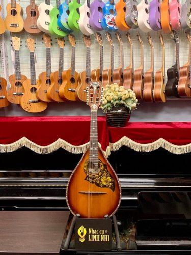 Đàn mandoline cẩm lai+cẩm ốc giá tốt